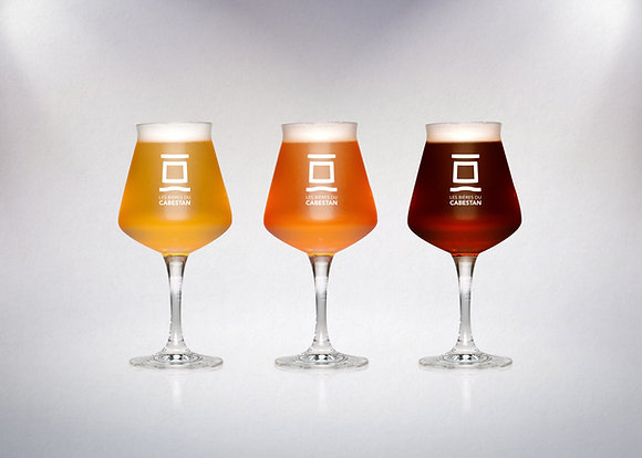 Carton de 24 verres des bières du Cabestan