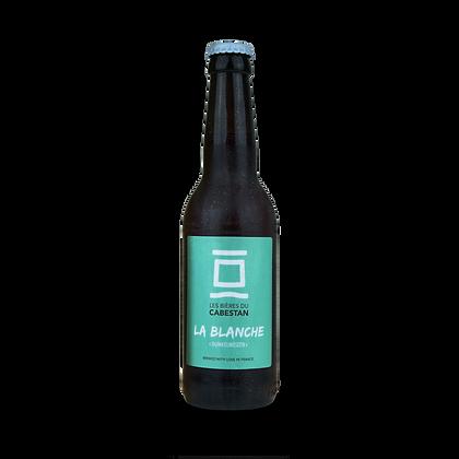 Carton de 12 bouteilles de 75cl de bière Blanche Dunkelweizen