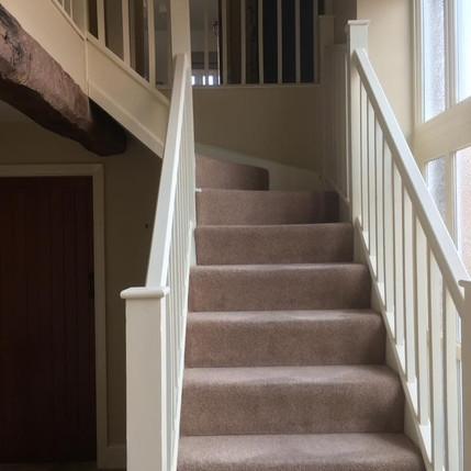 Staircase Taken into White