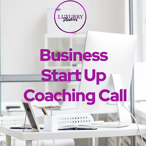 Business Start Up Coaching Call