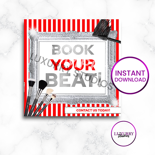 Red Book Your Beat Makeup Instant Download