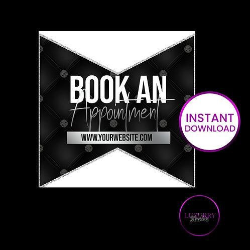 Black Luxury Book Appt