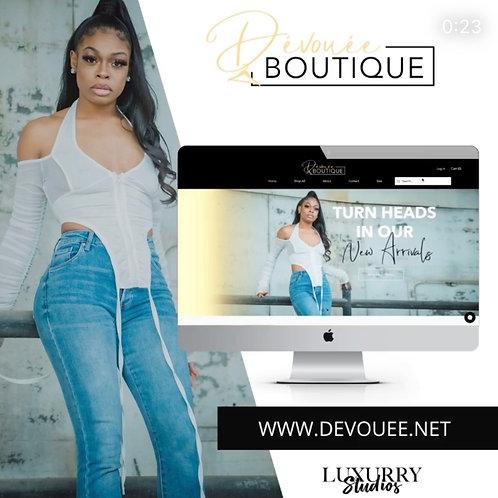 Wix Full Page Website Design