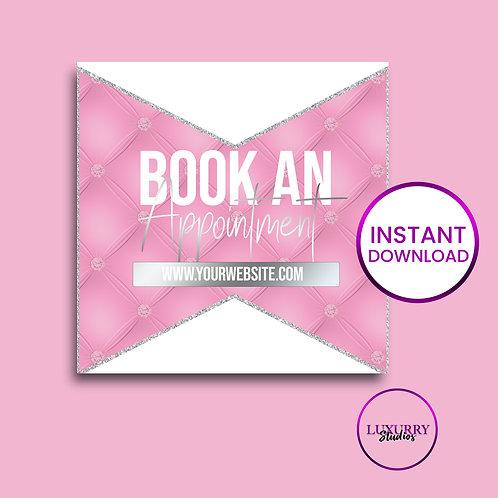 Pink Luxury Book Appt