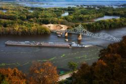 Black Hawk Bridge with Bridge