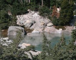 Lake in Bumpass Hell