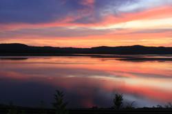 Mississippi River Sunset III