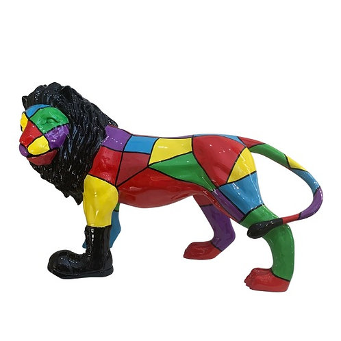 Lion Arlequin