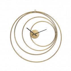 Horloge design dorée