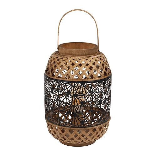 Lampe lanterne bicolore