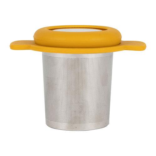 Infuseur à thé jaune