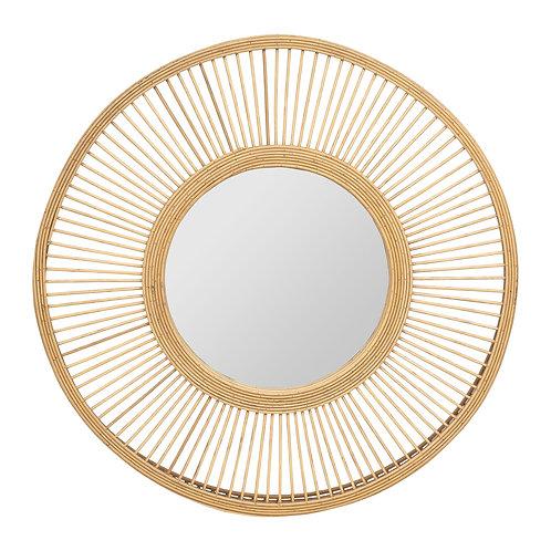Miroir bambou naturel