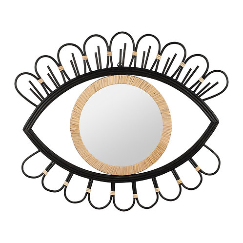 Miroir Solaret noir