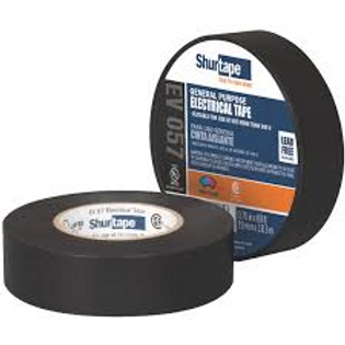 Shurtape Electrical Tape - Black