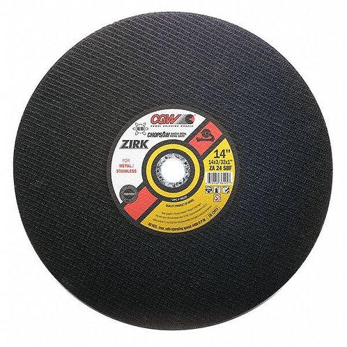 """14"""" Chop Saw Wheel"""