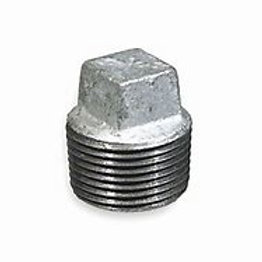 Galvanized - Square Plug