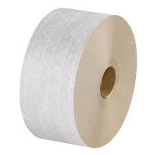 Water Activated Reinforced Tape - White