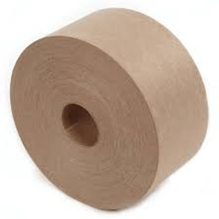 Water Activated Reinforced Tape - Brown