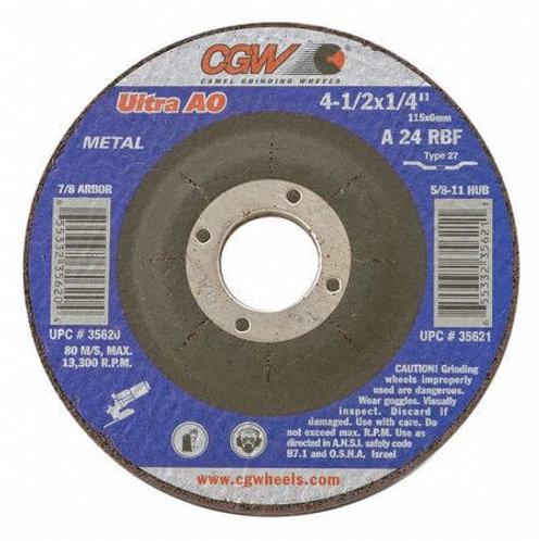 "Grinding Wheel 7/8"" Hole Arbor"