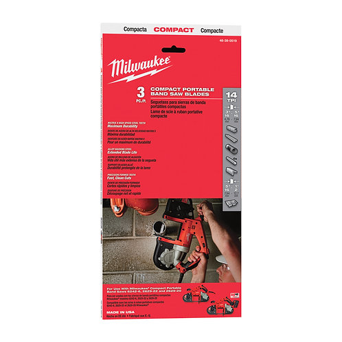 Milwaukee Portable Bandsaw Blade