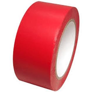 Red Vinyl Tape