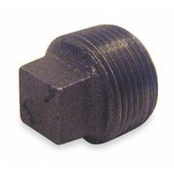 Black - Square Plug