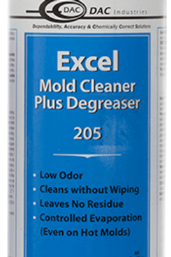 DAC 205 - Excel Mold Cleaner + Degreaser