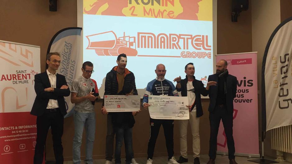 Plus de 10 000 euros pour soutenir Enzo & Christophe !