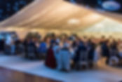 Photo of a Wedding Marquee setup in Northamptonshire