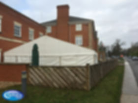 Extension of premises marquee structure