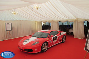 Silverstone Car Event Marquee Hire