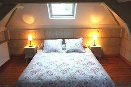 Chambre 2 du gîte de Parnay