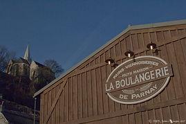 Voici la boulangerie proche du Gîte de Parnay