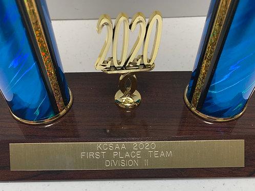 Basketball 2020 KCSAA Div2 1st Place