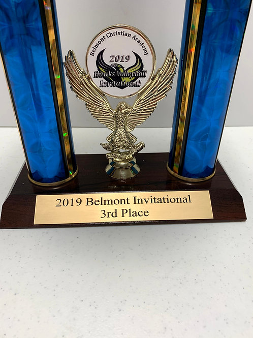 Volleyball 2019 Belmont Inv. 3rd Place