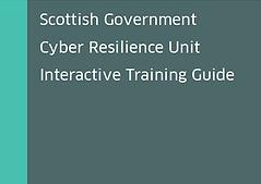 Scot Gov interactive training guide imag