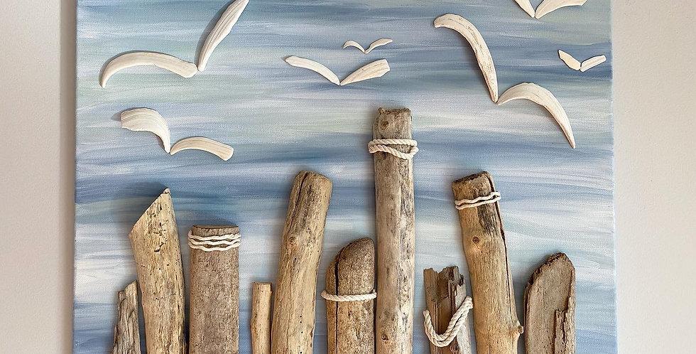 Seagulls & Pillars