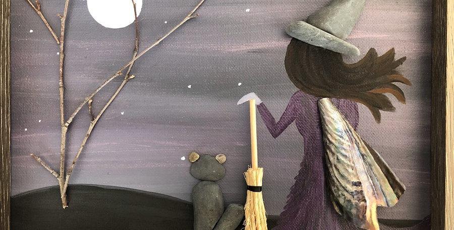 Witch Shadow Box