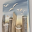Thumbnail: Seagulls At The Pillars Sunset