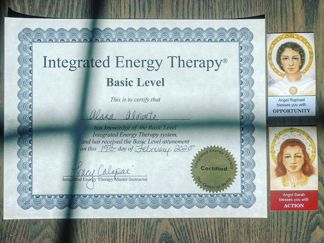 Integrated Energy Therapy Session