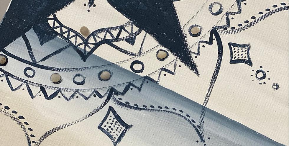 Mandal on Canvas
