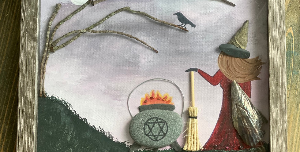 Fire Witch ~ 4 Elements Witch Collection