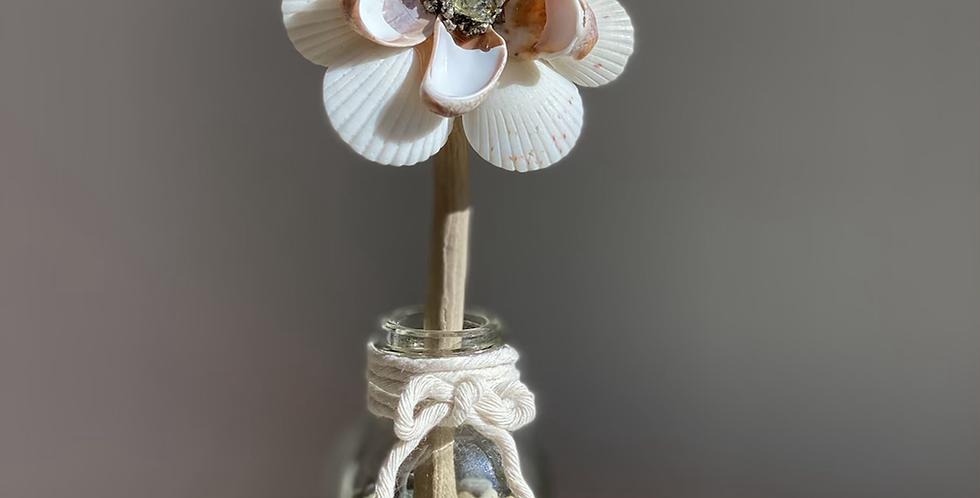 Mini ZenFlower - Citrine & Pyrite