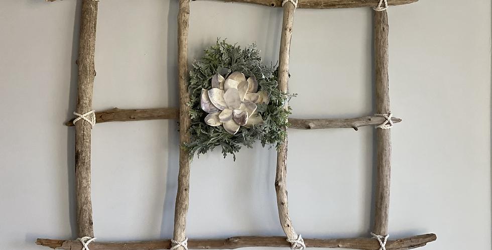 Driftwood Window w/ ZenFlower