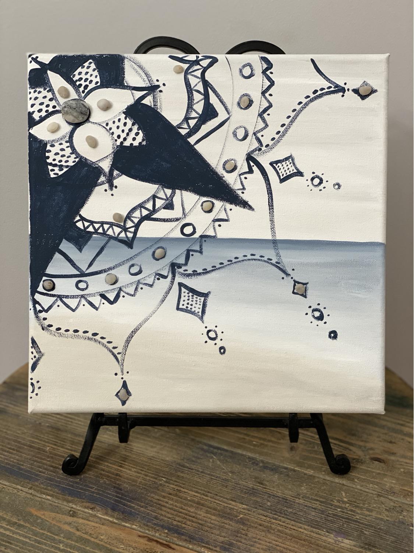 Thumbnail: Mandal on Canvas