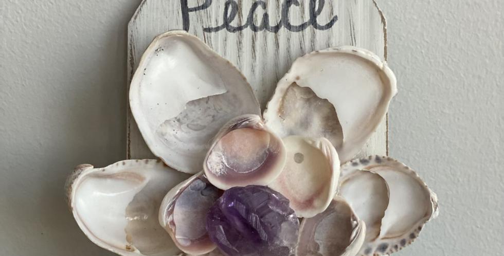 Peace - Raw Amethyst - Third Eye Chakra