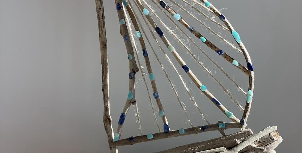 Sailboat w/ Amazonite & Lapis Lazuli