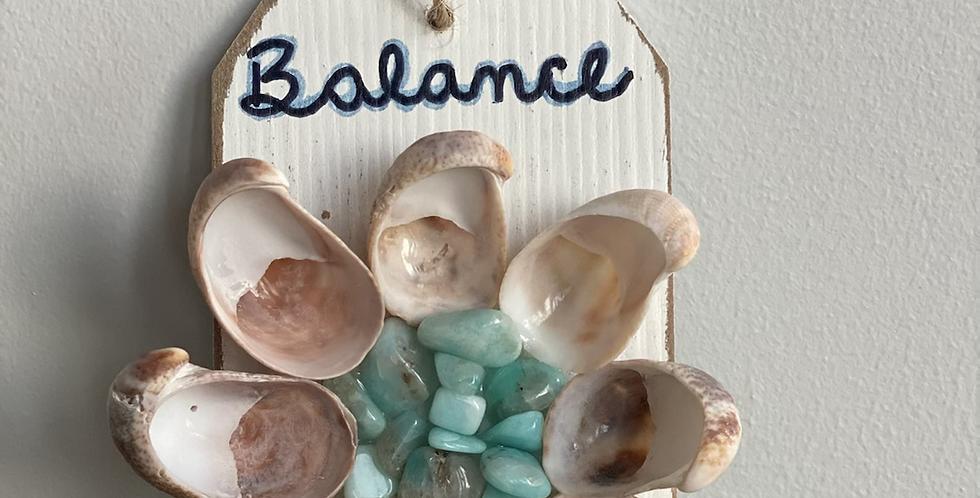 ZenFlower Ornament - Balance