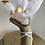 Thumbnail: 4 Element Smudge Wand - Rose Quartz & Pyrite