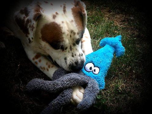 Squid Duraplush Dog Toy